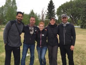 Hope Mission Kids in Action Run Volunteers Edmonton