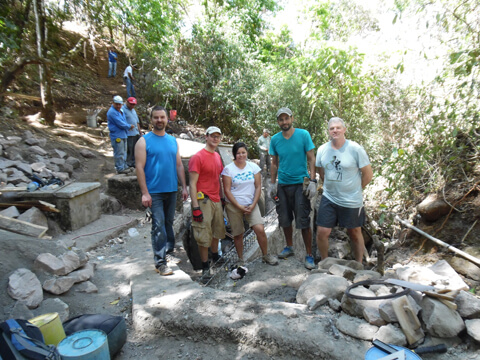 Habitat Studio Team in El Salvador 2015