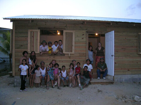 Habitat Studio Team in El Salvador 2008