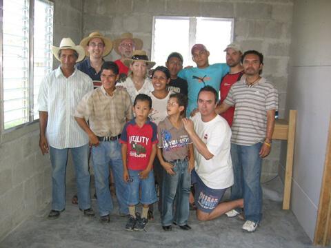Habitat Studio Team in El Salvador 2009