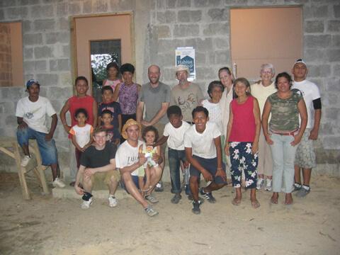 Habitat Studio Team in El Salvador 2010