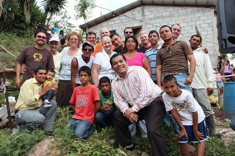 Habitat Studio Team in El Salvador 2012