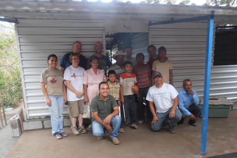 Habitat Studio Team in El Salvador 2014
