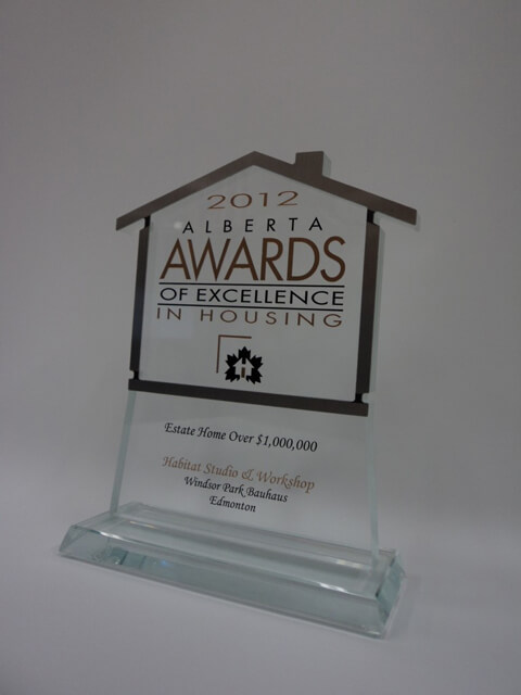Alberta Awards of Excellence in Housing Award 2012