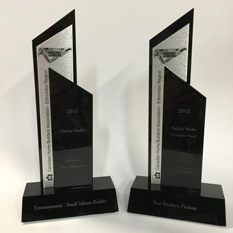 Environmental Recognition Small Volume Builder Award 2015 CHBA